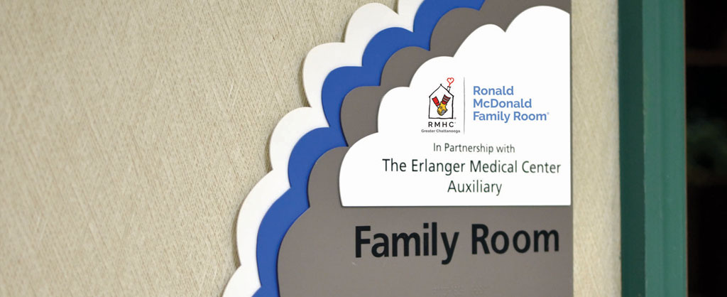 RMHC Family Room in Partnership with the Erlanger Medical Center Auxiliary