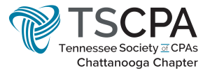 Tennessee Society of CPAs chattanooga chapter logo